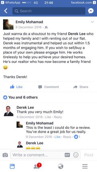 Derek Lee testimonial photo #1