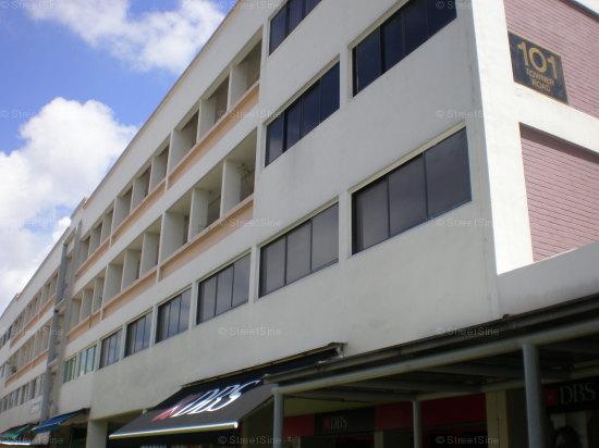 Block 101 Block View of 101 Towner Road
